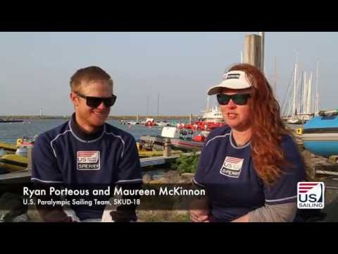Porteous and McKinnon Win Rio 2016 SKUD-18 Selection