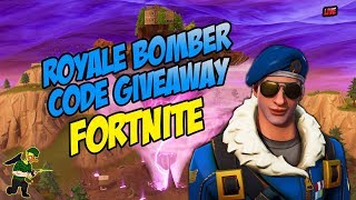 Royale Bomber Giveaway! (USA ONLY) Fortnite Console