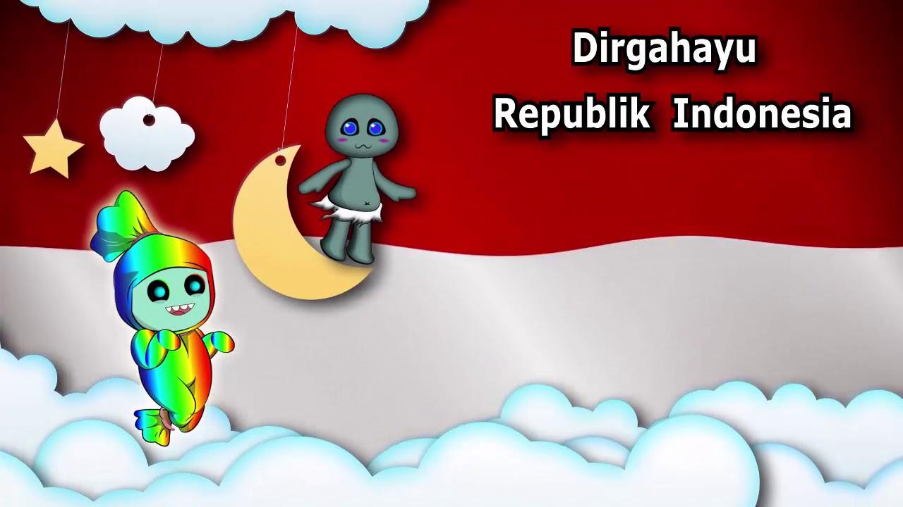 Dirgahayu Republik Indonesia Kartun Animasi Kemerdekaan