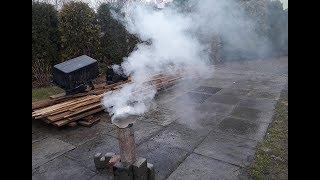Palimy w kominie żelaznym zapraszam