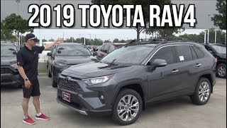 Redesigned: 2019 Toyota RAV4 Review on Everyman Driver