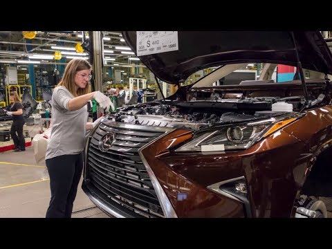 CAR FACTORY | North American Lexus NX To Be Built In Canada From 2022