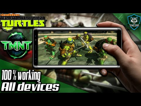 [Hindi][Teenage Mutant Ninja Turtles] Download ninja turtle full 3D game in android 100% working all
