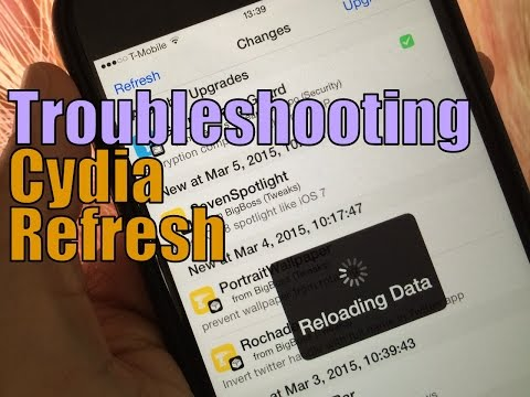 How To: Troubleshoot Cydia refresh issues