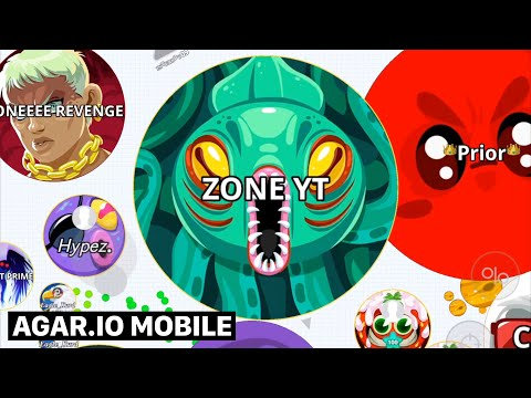 ZONE – AGARIO MOBILE SOLO TAKEOVER IN PARTY MODE