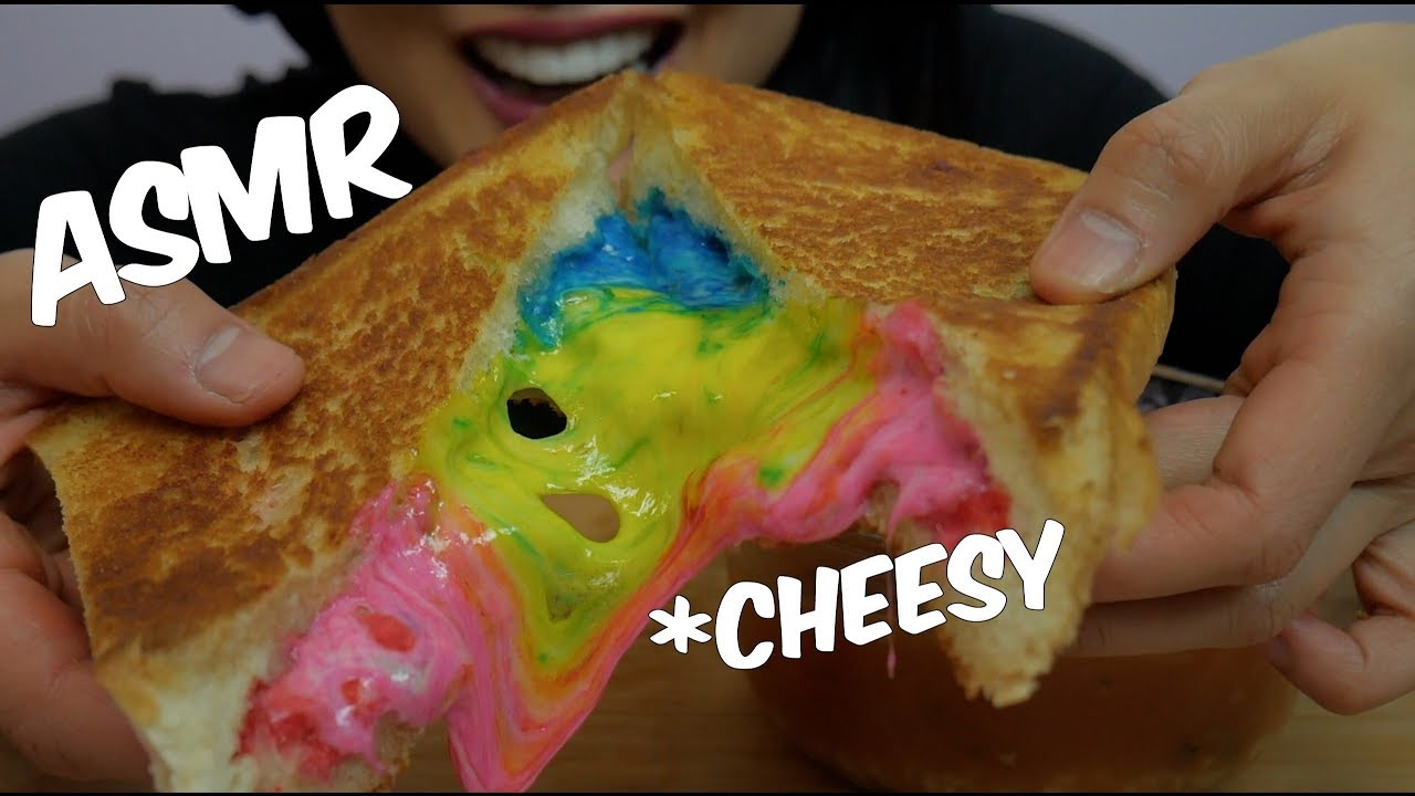 Asmr Rainbow Grill Cheese Eating Sounds No Talking Sas Asmr Youtube Check out this biography to know her birthday, family life, achievements and. asmr rainbow grill cheese eating sounds no talking sas asmr