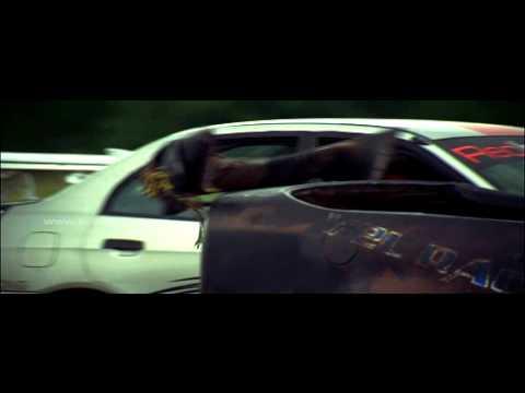 Kuruvi Car Race Scene