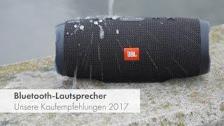 Bluetooth-Lautsprecher - Test und Vergleich 2017