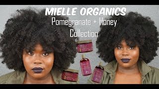 HOW TO: PROPERLY TWO STRAND TWIST ft. NEW! MIELLE ORGANICS POMEGRANATE + HONEY COLLECTION | Bubs Bee