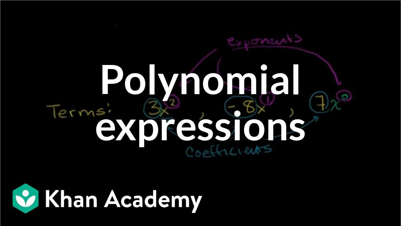 medium resolution of Polynomials (examples