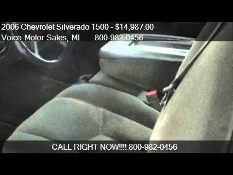 2006 chevrolet silverado 1500 1lt 4x4 extended cab for Voice motors kalkaska mi