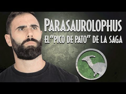 """Parasaurolophus, los """"pico de pato"""" de Jurassic Park y Jurassic World"""
