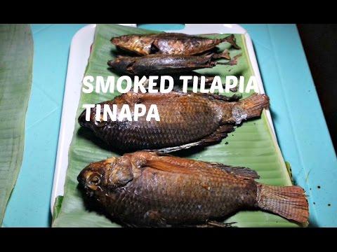 How To Make Smoked Tilapia | Tinapa