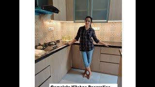 Small Kitchen Renovation L Shape Kitchen Ideas Modular Kitchen Design Youtube