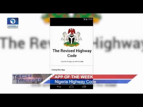 Tech Trends: App Of The Week 'Nigeria Highway Code'