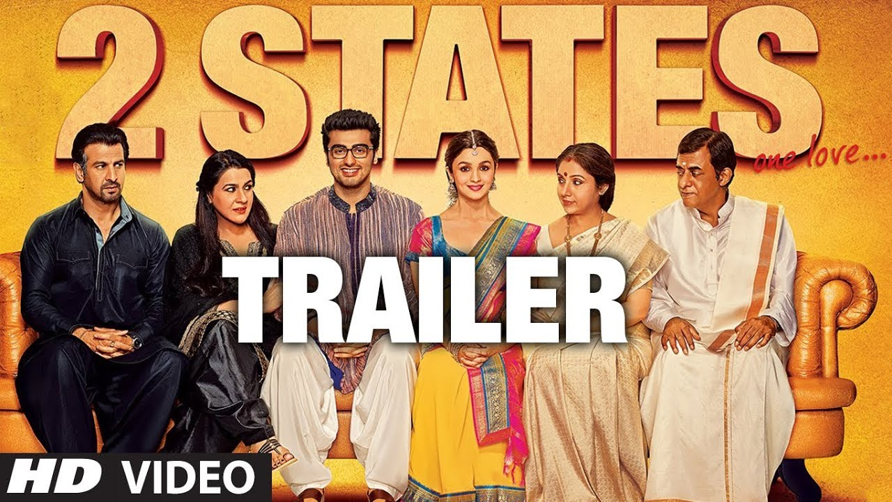 """2 States Official Trailer"" Releasing 18 April 2014 