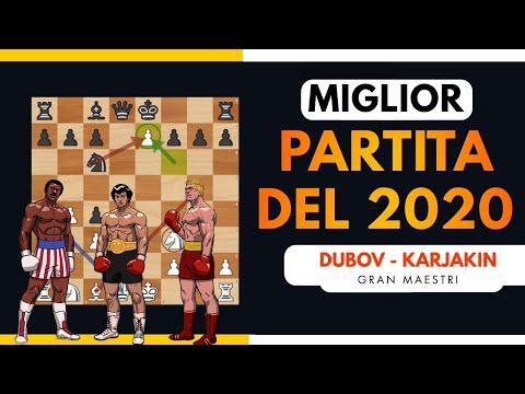 La Miglior Partita di Scacchi del 2020 | Dubov - Karjakin - Mattoscacco