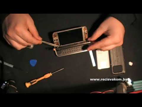 Prt 2: Nokia N97 Replace Touch Screen / Zamjena Touch Screen'a