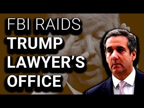 """FBI Raids Trump Lawyer's Office, Trump Calls It """"Attack"""" on USA"""