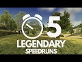 5 most legendary speedruns mp3