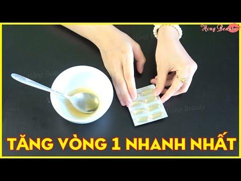 Mẹo Hay - Cách Làm Tăng Vòng 1 Nhanh Và Hiệu Quả Như Vừa Đi Bơm Bằng Vitamin E