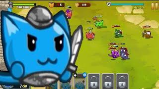 Hợp Thể Mèo Con Chiến Đấu Với Quái Vật - MeoWar - Top Game Android, ios