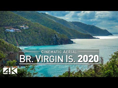【4K】Drone Footage | British Virgin Islands - Caribbean's Fin