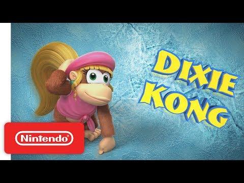 Donkey Kong Country Tropical Freeze - Meet the Kongs: Dixie Kong - Nintendo Switch