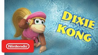Donkey Kong Country Tropical Freeze - Meet the Kongs: Dixie Kong - Nintendo Switch