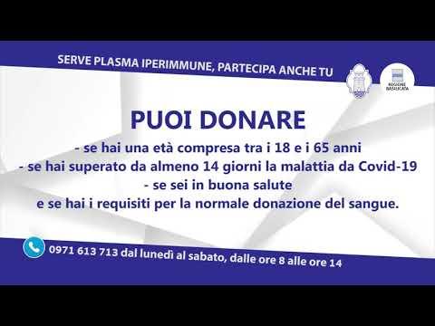 Spot VIDEO Dona Plasma Regione Basilicata AOR SanC...