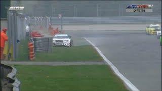 Mitjet Italian Series 2017. Race 1 Autodromo Nazionale Monza. Crash