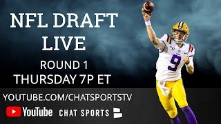NFL Draft 2020 Live Round 1