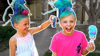 Payton's New Hairstyle with Friend! Blume Doll
