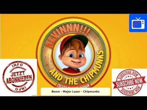 Major Lazer & MOTi - Boom | Alvin and the Chipmunks