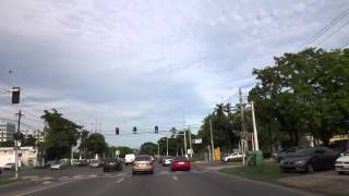 Driving on PR-2 in Ponce, Puerto Rico