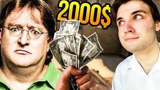 Pomóż Gabenowi i dostań 2000$! (CS:GO, Team Fortress, Dota)