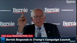 Sanders: Trump speech lies, distortions, nonsense