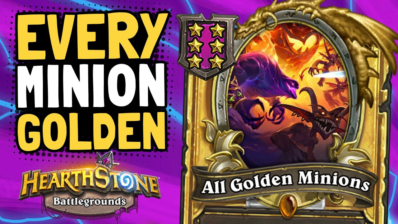 ALL MY MINIONS ARE GOLDEN! But Can I Win? | Battlegrounds | Hearthstone