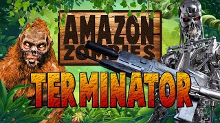 TERMINATOR CHALLENGE IN THE JUNGLE (Call of Duty Zombies)