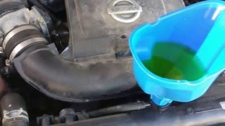 Burp coolant system, no heat at idle.