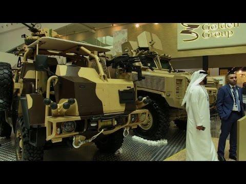 IDEX 2017 arms fair opens in Abu Dhabi