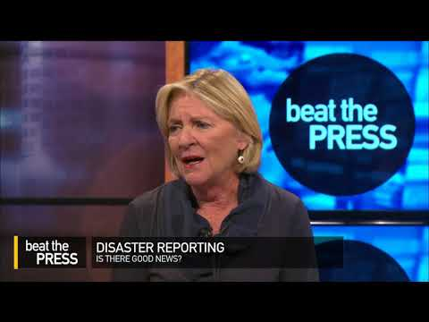 Beat the Press: Disaster Reporting