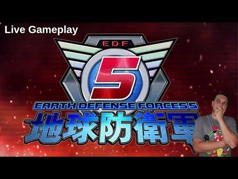 Earth Defense Force 5  Live Gameplay  LQ thumbnail
