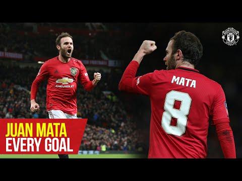 Juan Mata   Every Goal for Manchester United