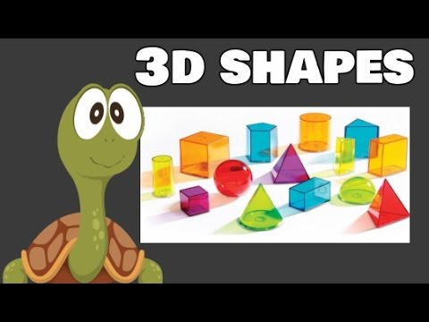 3D Shapes | First Grade and Kindergarten Math Learning