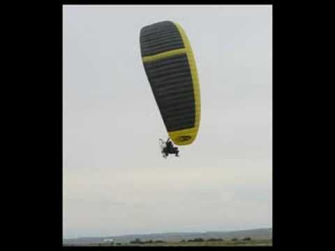Paraglider repairs at