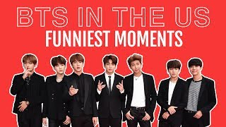 BTS IN THE US  /  FUNNIEST MOMENTS & BBMAS