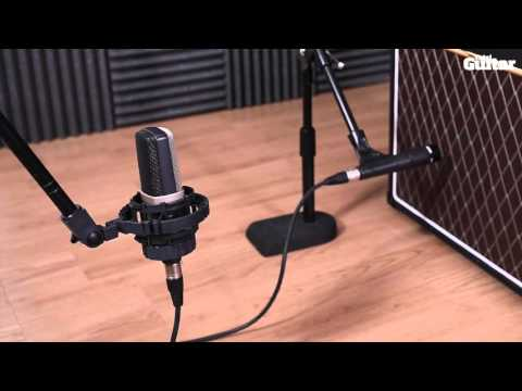 Recording your guitar amp: Microphone positions