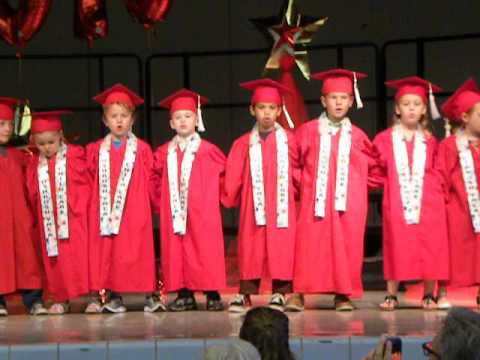 "Daniel's 4K graduation - ""This is my school family"""