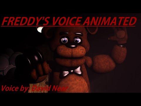 [SFM FNaF] Freddy's Voice Animated (David Near)